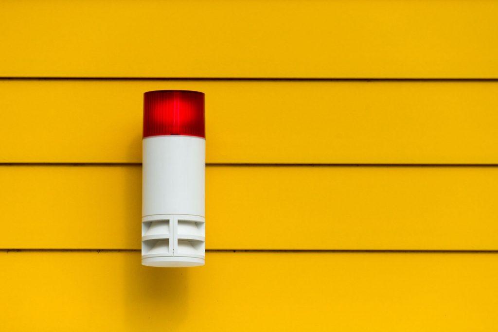 Alarminstallatie in huis